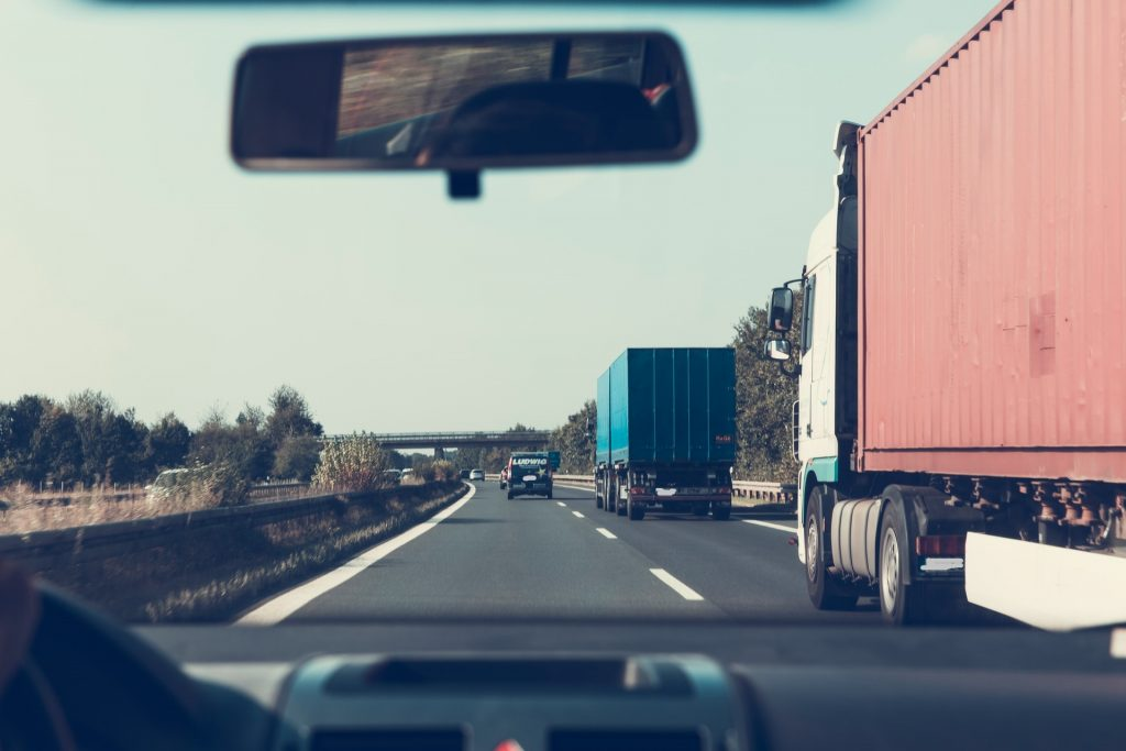 Speditør-Spedition-Transport-Fragt-Transportør-Fragtmand-Motorvej